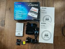 *BOXED* COMPLETE Sharp Zaurus SL-5500 Linux PDA Handheld