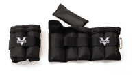 Ankle Weights Adjustable Wrist Arm Leg Pair Home Exercise Gym Soft Padding 5 Lbs