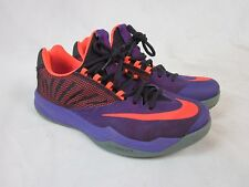 Nike Zoom Men's (653636-565) Purple/Orange Basketball Shoe Size 9