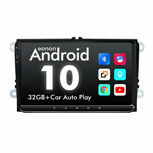 """For VW Golf Jetta Tiguan RCD360 9""""Android10 Car Radio Bluetooth Touch Screen GPS"""
