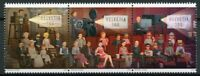Switzerland Cinema Stamps 2020 MNH 125 Years Movies Film Cultures 3v Strip