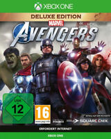 Marvel Avengers Deluxe Edition inkl. Series X Upgrade (Xbox One)