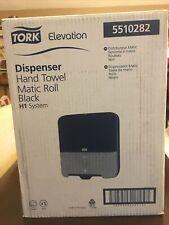 Tork 5510282 Elevation Matic Hand Towel Roll Dispenser H1 System Black New Nib