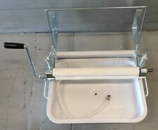 HOME LAUNDRY CLOTHES WRINGER WASHER  WITH RINSE TUB HAND WASH GREAT PRODUCT Camp