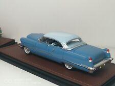 1956 Cadillac Sedan deVille 1/43 GLM resin n Neo Brooklin Sonic/Tahoe blue Ltd