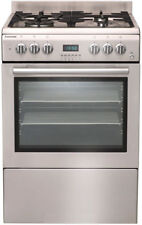 Euromaid GTEOS60 60CM Stainless STOVE GAS TOP ELECTRIC OVEN.10 amp plug.