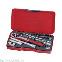 Teng Tools SALE!! 34 Piece 3/8 Drive Ratchet Sockets Extension Tool Set
