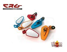 CRG ARROW Bar End Mirror Billet CNC BLUE Left or Right SAVE $$ FREE SHIPPING
