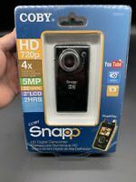 BRAND NEW & SEALED Coby SNAPP HD Camcorder Camera CAM5001