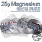 15m Magnesium band - 25g rolle 99,95% reinst  - Pure Magnesium ribbon metal roll
