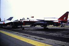 3/941  Sepecat Jaguar T.2A C/N B.27 Royal Air Force XX-839 Kodachrome SLIDE