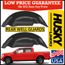 Husky Liners Rear Wheel Well Guards Flaps 2015-2019 Ford F-150 BLACK