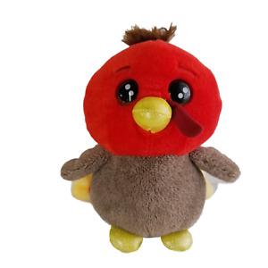 "RUSS Lil Peepers TURKEY Plush Stuffed Animal Toy 2020 Zag Toys Thanksgiving 8"""