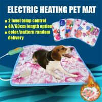 60/40cm Electric Heating Mat Bed Blanket Pet Cat Dog Pad Temp Adjustable   AU1