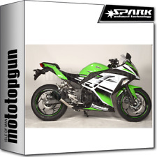 SPARK ESCAPE MOTO-GP RACING ACERO NEGRO KAWASAKI NINJA 300 I.E. 2013 13 2014 14