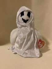 Ty Beanie Babies Collection Sheets the Ghost Stuffed Toy Halloween Decoration
