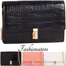 Women Retro Patent Wedding Party Prom Evening Clutch Ladies Snake Hand Bag Purse