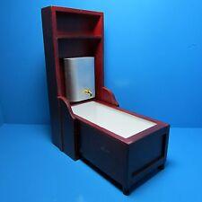 Dollhouse Miniature Murphy Victorian Bathtub in Mahogany ~ D6409