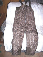 Mens Small Bib Overalls Insulated Bibs Mossy Oak Coveralls Bib Water Proof $150
