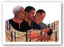 Generations II Limited Edition Keith Mallett African American Art Print 37x26