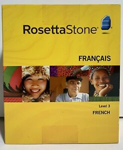 IH Rosetta Stone French Level 3 Version 3For PC & Mac New/Factory Sealed