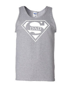 Super Dad Funny Tank Top Father's Day Birthday Gift For Dad Daddy Husband Super