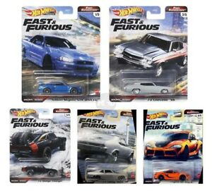 Pre-Order Hot Wheels Fast & Furious 2021 Fast Superstars Set of 5, GBW75-956M
