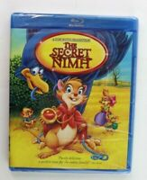 The Secret of NIMH (Blu-ray Disc, 2011) Brand New Sealed