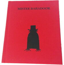 FIRST EDITION MISTER BABADOOK POP UP BOOK RARE COLLECTABLE BRAND NEW