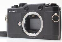 Read 【Mint】 Voigtlander BESSA-T Black Rangefinder Film Camera M mount From JAPAN