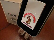 Retired Polished Chrome Budweiser Clydesdales Beer Zippo Lighter