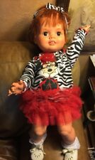 Vintage 1970's Large Ideal Baby Crissy Doll Disney Clothing  Minnie Mouse