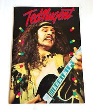 TED NUGENT JAPAN TOUR 1978 CONCERT PROGRAM BOOK