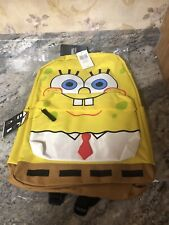 New Bioworld Spongebob Squarepants Character Backpack
