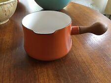 Dansk Kobenstyle HTF Orange Pan Teak Handle