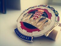 Superb Rally Monte carlo Classic Car Badge Great for all vintage classic cars.