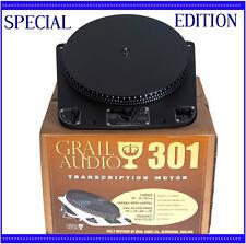 GARRARD 301 Turntable Unique Special Edition 'Sable' By Audio Grail S. No: 78992