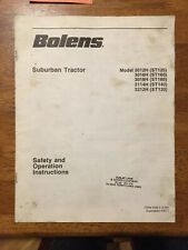 Bolens Model Suburban Tractor 3012H - 3212H Safety & Operating Instructions