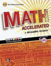 Merrill Pre-Algebra: Glencoe Math Accelerated, Student Edition by McGraw-Hill Hi