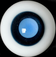 Nice DeepBlue Pupil/&LightPink Iris 12mm Glass Eyes for BJD AOD DD Volks Doll