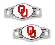 University of Oklahoma Shoe Charms / Pair of 2