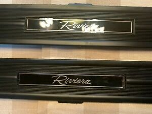 1986-93 NOS Buick Riviera Door Sill Threshold Trim/Sill Strips