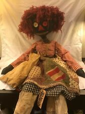 Antique African American doll by Adrienne McDonald