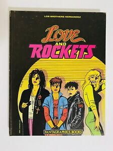 LOVE AND ROCKETS HARDCOVER BOOK 1 FANTAGRAPHICS SIGNED LIMITED EDITION 1ST PRINT