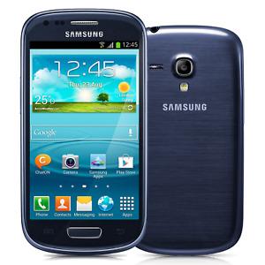 Samsung Galaxy S3 Mini I8190 GSM Unlocked Android 1GB RAM 5 MP WIFI Smartphone