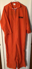 Orange jail jumpsuit inmate sz One size fits all Gotbusted