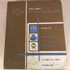 National Automotive Service Volume 1 National Service Data Tune up 1959-1967