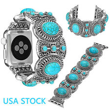 Bling Turquoise Bangle Strap for iWatch Series 5 4 3 2 Apple Watch Band Belts US