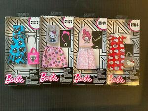 Barbie Hello Kitty Fashion Packs incl TwinStars