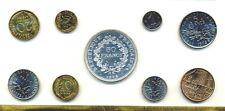 Coffret complet 1975 de la Monnaie de Paris avec 50 francs Hercule argent